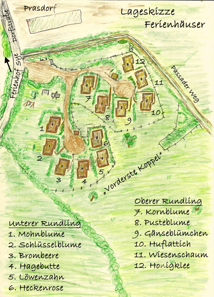 Ferienhaus im kleinen Feriendorf