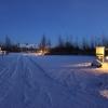 Schneeeinfahrt